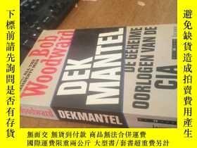 二手書博民逛書店外文原版罕見Bob Woodward DEK MANTEL DE