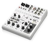 音響世界二館:YAMAHA AG06 USB六軌行動混音器-直播/錄音/街頭藝人(公司貨)