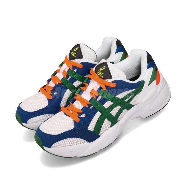 【六折特賣】Asics 復古慢跑鞋 Gel-Bnd 白 綠 休閒鞋 基本款 老爹鞋 女鞋 亞瑟士【ACS】 1022A129100