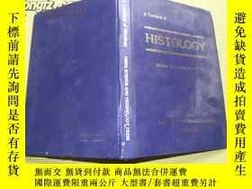 二手書博民逛書店A罕見Textbook of HISTOLOGY 組織胚胎學教科