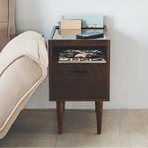 書報架 茶几 矮桌 邊桌 收納櫃 置物櫃【X0043】極簡多功能玻璃邊桌(兩色) MIT台灣製 完美主義