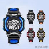 LED防水夜光電子錶青少年多功能戶外男錶運動兒童學生手錶