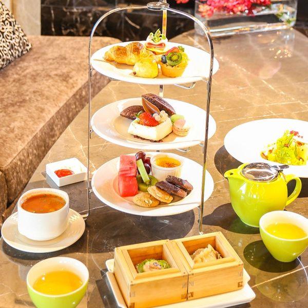 台中金典酒店2人平日週一~四英式下午茶餐券