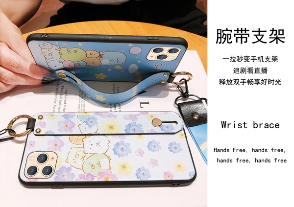 日韓角落生物 三星 A22 A32 A42 A52 5G A51 A71 A52s A31 卡通可愛動物 iG 手機殼 影片支架 保護套