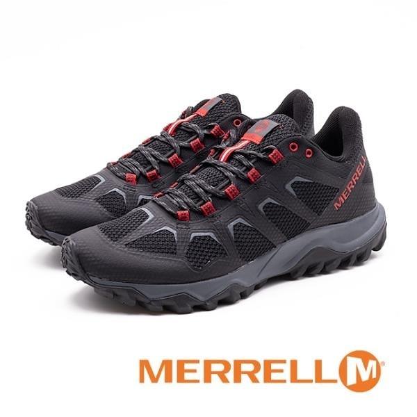【南紡購物中心】MERRELL (男) FIERY 運動 低筒戶外鞋 男鞋-黑(另有灰)