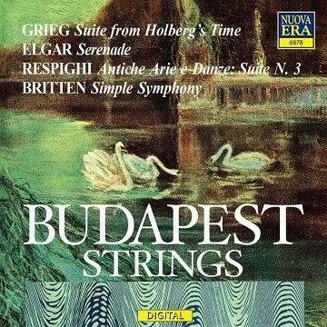 布達佩斯弦樂團  葛利格 艾爾加 雷史畢基 布烈頓弦樂作品集 CD