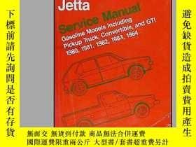 二手書博民逛書店B00435N39S罕見1980-1984 VW Rabbit, Scirocco, Jetta Repair S