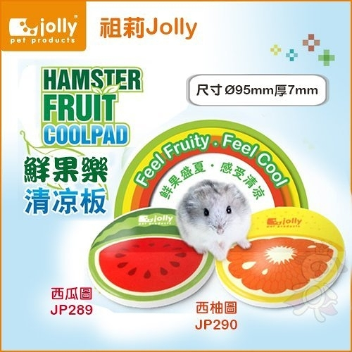 *KING WANG*Jolly祖莉《鮮果樂清涼版-西瓜圖案JP289|西柚圖案JP290》-兩種款式可選 倉鼠適用