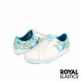 Royal Elastics x Hello Kitty Icon Z 經典運動鞋-白x熱帶水藍印花