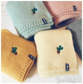 兒童圍巾 韓版小孩男女童純棉寶寶圍巾秋冬季針織保暖嬰兒圍脖