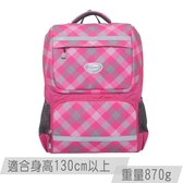 【IMPACT】怡寶成長型書包-大格紋-粉紅 IM00363PK