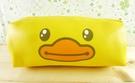 【震撼精品百貨】B.Duck_黃色小鴨~筆袋-黃色小鴨大臉圖案