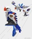拼裝玩具 太空贊歌鸚鵡變型玩具可動模型動物玩具 洛小仙女鞋YJT