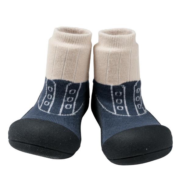 韓國 Attipas 快樂腳襪型學步鞋-皇家學院藍