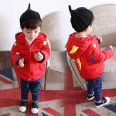羽絨外套 新品寶寶冬裝童裝男童反季嬰幼兒加厚連帽羽絨棉襖1-3-5周歲