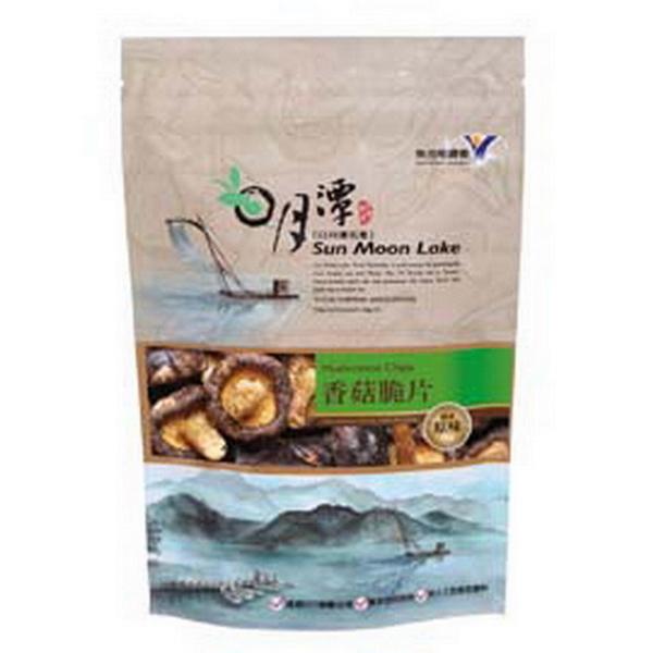 【魚池鄉農會】香菇脆片-原味(90g/包)