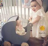 娃娃嬰兒車寶寶學步車手推防側翻兒童學走路助步玩具車  color shopigo