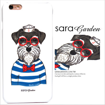 3D 客製 手繪 海軍風 眼鏡 雪納瑞 iPhone 6 6S Plus 5 5S SE S6 S7 M9 M9+ A9 626 zenfone2 C5 Z5 Z5P M5 G5 G4 J7 手機殼