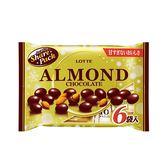 LOTTE Almond杏仁巧克力球分享包141g【愛買】