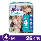 麗貝樂 Libero 嬰兒紙尿褲4號(M) 26片/包 專品藥局【2009294】