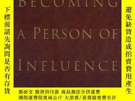 二手書博民逛書店Becoming罕見A Person Of InfluenceY256260 John C. Maxwell