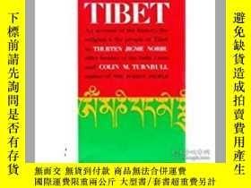 二手書博民逛書店Tibet罕見an Account of the History