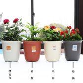 加厚樹脂塑料花盆長缽加深加高花盆綠蘿園藝