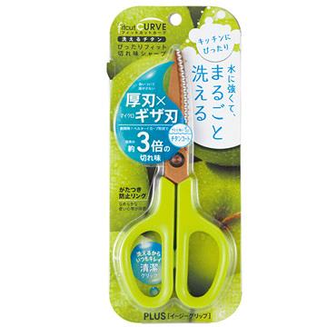 SC-175STW 綠色 廚房剪刀(34-555) PLUS
