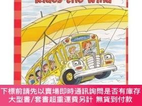 二手書博民逛書店The罕見Magic School Bus: Rides the Wind學樂讀本系列第二級:神奇校車系列:乘風之