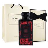 Jo Malone 絲絨玫瑰與烏木醇粹古龍水(100ml) [附外盒+緞帶+提袋]