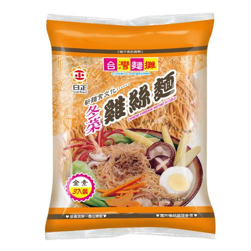 日正冬菜雞絲麵150G【愛買】