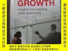 二手書博民逛書店Sales罕見Growth lnsights from leading sales executivesY10