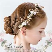 大小美人皆可用~小公主新娘頭飾花環髮飾演出造型綁帶髮圈(P12059)★水娃娃時尚童裝★