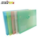 《享亮商城》GF218-N 透明 壓花A4橫式文件袋+名片袋 HFP