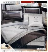 秋登場『銀豹魅力』銀*╮☆七件式絲緞高級精梳棉床罩組(5*6.2尺)