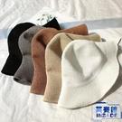 棉麻遮陽帽漁夫帽女日系針織盆帽防曬帽可折疊小禮帽【英賽德3C數碼館】