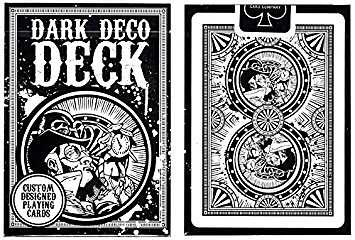 【USPCC 撲克】BICYCLE STOCK DARK DECO DECK 黑暗勢力