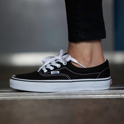 VANS ERA 黑白 經典 復古 基本款 帆布鞋 情侶鞋 男女鞋【GT Company】C501299