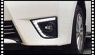【車王小舖】豐田 Toyota Altis 11代 2014 日行燈 晝行燈 霧燈框改裝