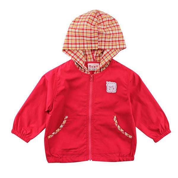 【愛的世界】純棉半鬆緊帶口袋連帽長袖外套/1~2歲-台灣製- ★春夏外套 夏日推薦