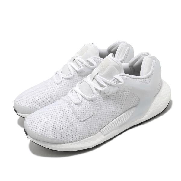 adidas 慢跑鞋 Alphatorsion Boost M 白 全白 男鞋 舒適緩震 運動鞋【ACS】 FV6166