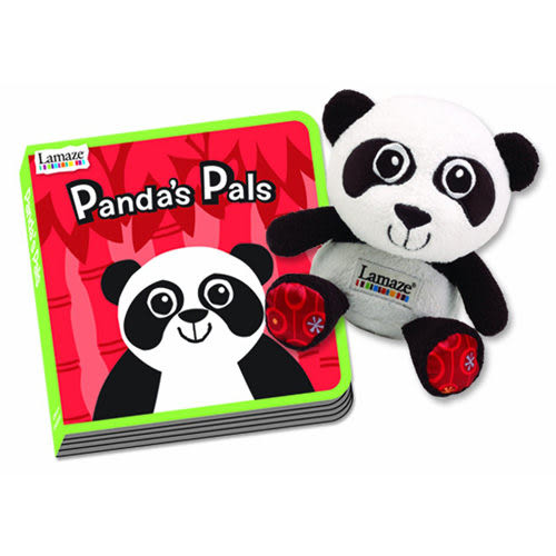 Lamaze拉梅茲嬰幼兒玩具 PANDA的好朋友禮盒_LC27911