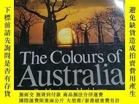 二手書博民逛書店The罕見Colours of AustraliaY200392