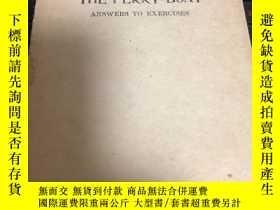 二手書博民逛書店罕見【民國老課本】渡船練習答案(1947年三版品佳)Y19357