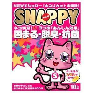 【寵物王國】Snappy-香水細貓砂10Lx3包,3包一組免運費!