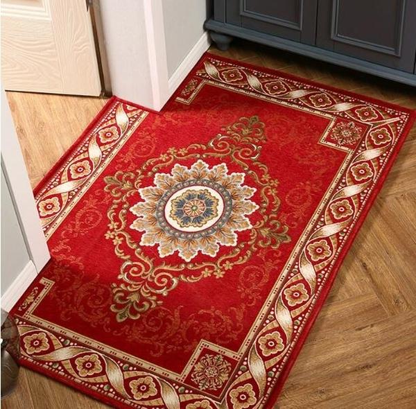 進門地墊家用地毯門墊入戶門墊子客廳臥室門口進門腳墊浴室防滑墊 3C優購