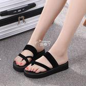 拖鞋女夏時尚外穿厚底百搭個性可愛新款室內可愛韓版防滑洗澡 俏腳丫