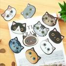 韓國 可愛貓咪造型鏡子 迷你鏡子 隨身鏡...