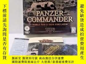 二手書博民逛書店Panzer罕見Commander (裝甲指揮官電腦遊戲Y281
