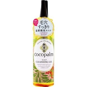 【福利品】SARAYA 日本製 Cocopalm 溫感頭皮按摩凝膠 150ml